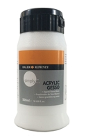 Picture of Daler Rowney Simply Acrylic Gesso - Λευκό Γκέσσο