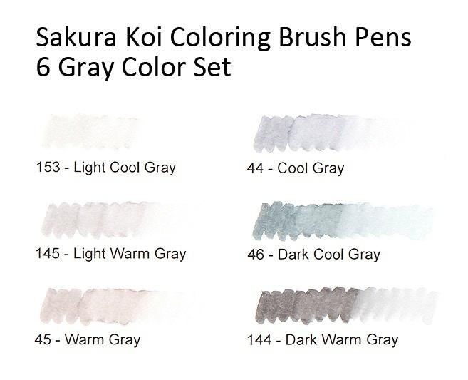 Sakura Koi Coloring Brush Pen Set - Grays-ScrapsnPieces ...