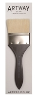 Picture of Artway Flat Varnish Brush 3''