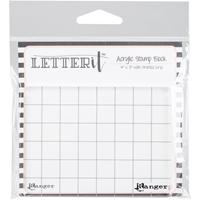 Εικόνα του Letter It Ακρυλική Βάση για Σφραγίδες - Acrylic Stamp Block