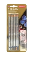 Picture of Derwent Metallic Watercolor Pencil Set