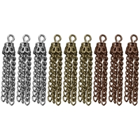 Εικόνα του Tim Holtz Assemblage Charms Μεταλλικά Στοιχεία - Small Tassels