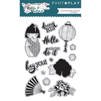Picture of PhotoPlay Photopolymer Stamp - Paper Crane
