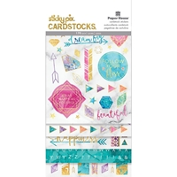 Picture of Paper House Sticky Pix Cardstock Multi Pack - Marbleous
