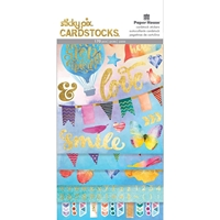 Picture of Paper House Sticky Pix Cardstock Multi Pack - Color Washed