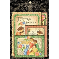 Picture of Graphic 45 Little Women Ephemera Cards