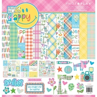 "Εικόνα του PhotoPlay Collection Pack 12""X12"" - Mad 4 Plaid Happy"