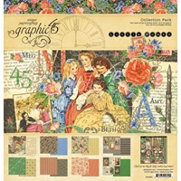 "Picture of Graphic 45 Collection Pack 12""X12"" - Little Women"