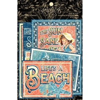 Picture of Graphic 45 Sun Kissed Ephemera Cards