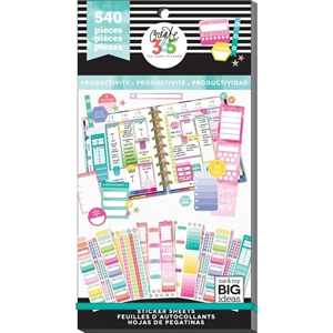 Picture of Happy Planner Sticker Value Pack - Productivity Fill-In