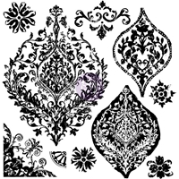 Picture of Iron Orchid Designs Decor Clear Stamps - Portico