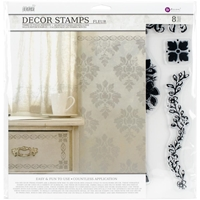 Εικόνα του Iron Orchid Designs Decor Clear Stamps - Fleur