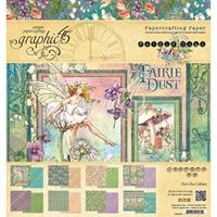 """Εικόνα του Graphic 45 Double-Sided Paper Pad 8""""X8""""  - Fairie Dust"""