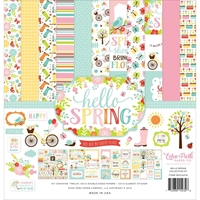 """Picture of Echo Park Collection Kit 12""""X12"""" - Hello Spring"""