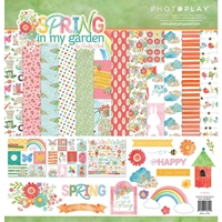 """Εικόνα του PhotoPlay Collection Pack 12""""X12"""" - Spring In My Garden"""
