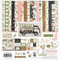 "Picture of Carta Bella Collection Kit 12""X12"" - Spring Market"