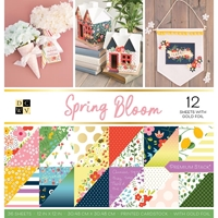 "Picture of DCWV Double-Sided Cardstock Stack 12""X12"" - Spring Bloom"