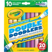 Εικόνα του Crayola Dual-Ended Washable Double Doodlers Markers