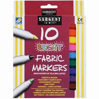 Picture of Bright Fabric Markers
