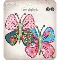 Picture of Fabric Editions Sew Little Time Sew-On Applique - Butterflies