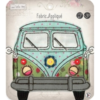 Picture of Fabric Editions Sew Little Time Sew-On Applique - Van