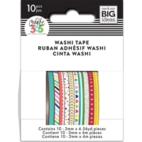 Picture of Happy Planner Mini Washi Tape - Brights