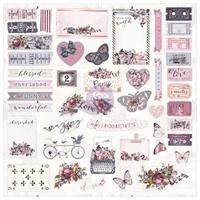 Εικόνα του Ephemera Cardstock Die-Cuts - Lavender