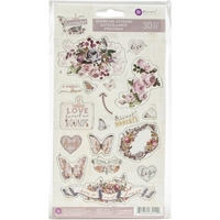 Picture of Lavender Chipboard Stickers