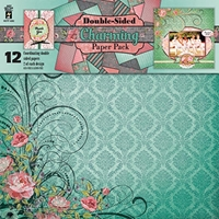 Picture of Hot off the Press Scrapbooking Paper Pack 12''X12'' - Charming