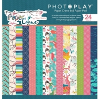 "Picture of PhotoPlay Double-Sided Paper Pad 6""X6""  - Paper Crane"