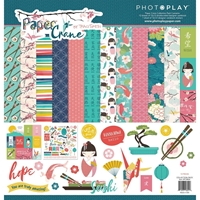 "Εικόνα του PhotoPlay Collection Pack 12""X12"" - Paper Crane"
