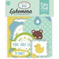 Εικόνα του Sweet Baby Boy Cardstock Die Cuts - Icons