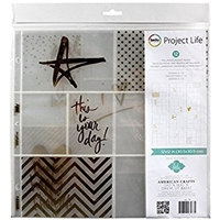 "Εικόνα του Project Life Photo Pocket Pages 12""X12"" - Heidi Swapp"