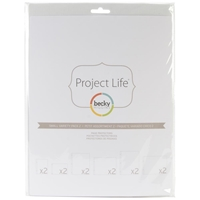 Εικόνα του Project Life Photo Pocket Pages - Small Variety Pack 1