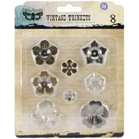 Picture of Mechanicals Metal Embellishments - Mini Flowers