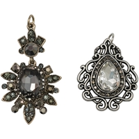 Picture of Tim Holtz Assemblage Charms - Baroqued Diamonds