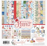 """Picture of Carta Bella Collection Kit 12""""X12"""" - Practically Perfect"""