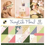 """Picture of DCWV Double-Sided Cardstock Stack 12""""X12"""" - Fairytale Floral"""