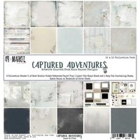 Εικόνα του 49 & Market Collection Pack 12''X12'' - Captured Adventure