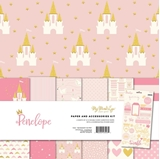 """Picture of Mind's Eye Paper & Accessories Kit 12""""X12"""" - Penelope"""