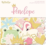 Picture of Penelope Mixed Bag Cardstock Die-Cuts