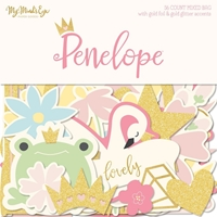 Εικόνα του Penelope Mixed Bag Cardstock Die-Cuts
