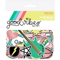 Εικόνα του Good Vibes Mixed Bag Cardstock Die-Cuts