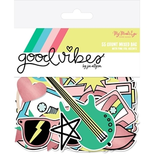 Picture of Good Vibes Mixed Bag Cardstock Die-Cuts