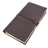 Εικόνα του Δερμάτινο Traveler's Journal Κιτ - Cowhide Leather Brown