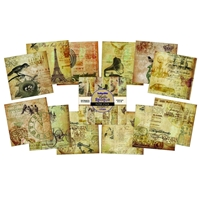 Picture of IndigoBlu Cardstock Paper Stack 30.5X30.5 - Belle Epoque