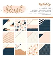 """Εικόνα του My Mind's Eye Double-Sided Paper Pad 6""""X6""""  - Blush"""