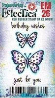 Εικόνα του Paper Artsy Σφραγίδα Rubber Eclectica Mini - Happy Birthday
