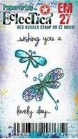 Εικόνα του Paper Artsy Σφραγίδα Rubber Eclectica Mini - Wishing You
