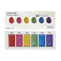 Εικόνα του Kuretake Gansai Tambi Gem Colours - Χρώματα Ακουαρέλας